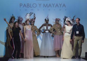 Desfile de PABLO Y MAYAYA desarrollado durante la PASARELA DE LA MODA DE CASTILLA Y LEÓN 2017