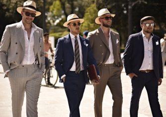 Historia del sombrero 1. El sombrero de hombre.